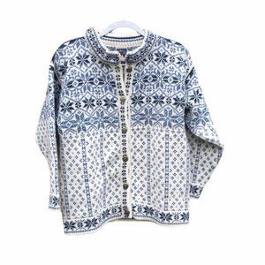 Dale of Norway Pure New Wool Cardigan Sz XS